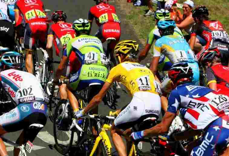 Le Tour de France en Mayenne