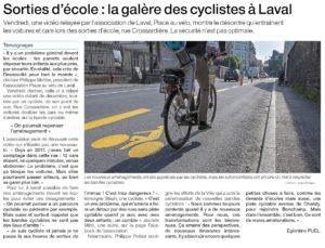 Article Ouest France du 10/02/2021